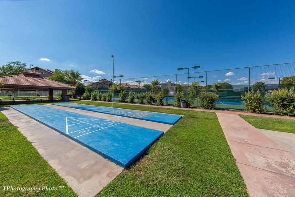 This 1 bedroom, 1 bathroom condo is very well kept and a must see! Enjoy all the amenities that Sports Village has to offer. Pools, tennis courts, play area, basketball and more! This Unit has a lease in place through 7/31/18 at $875 a month.