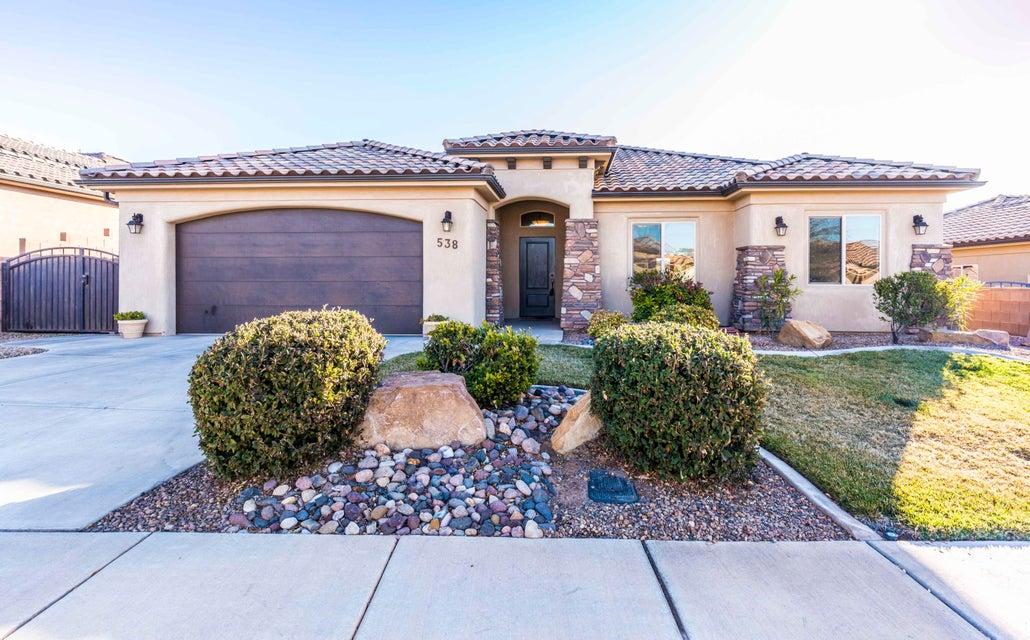 Casa Unifamiliar por un Venta en 538 La Ruta 538 La Ruta Washington, Utah 84780 Estados Unidos