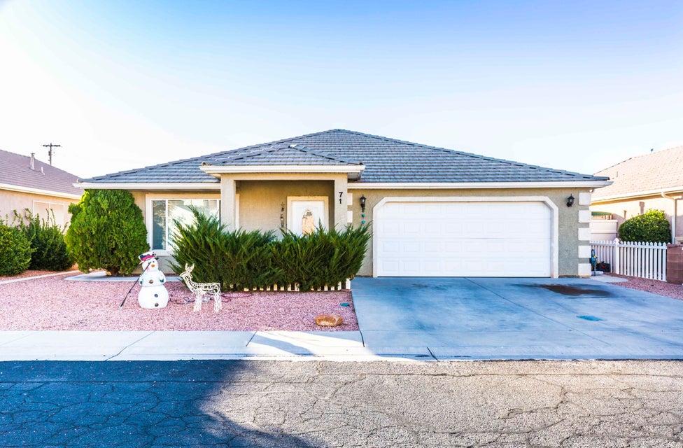 Maison unifamiliale pour l Vente à 71 Partridge Circle 71 Partridge Circle Hurricane, Utah 84737 États-Unis