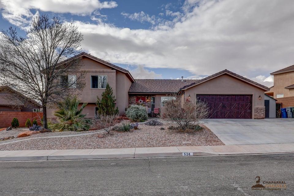 Maison unifamiliale pour l Vente à 524 Praya Drive 524 Praya Drive Ivins, Utah 84738 États-Unis
