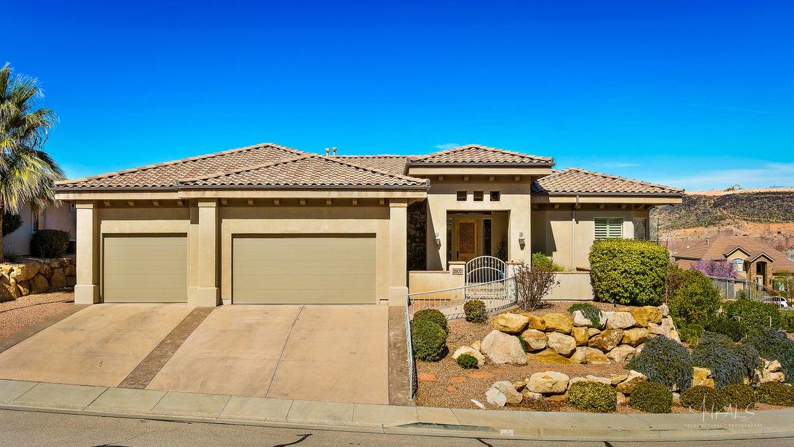 Casa Unifamiliar por un Venta en 1805 Boulder Mountain Road 1805 Boulder Mountain Road St. George, Utah 84790 Estados Unidos