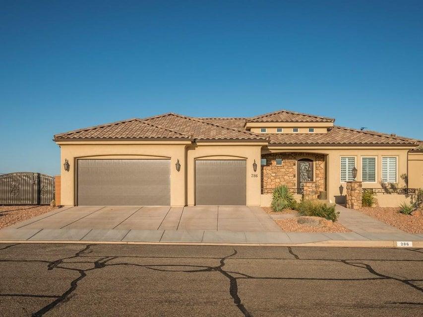 Single Family Home for Sale at 286 Crestline Circle 286 Crestline Circle St. George, Utah 84790 United States