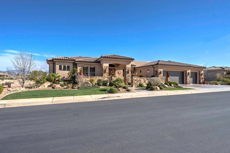 Maison unifamiliale pour l Vente à 2043 Stone Canyon Drive 2043 Stone Canyon Drive St. George, Utah 84790 États-Unis
