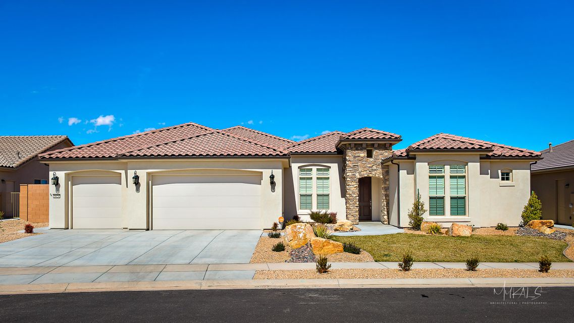Maison unifamiliale pour l Vente à 1624 WILD ROSE Circle 1624 WILD ROSE Circle St. George, Utah 84790 États-Unis
