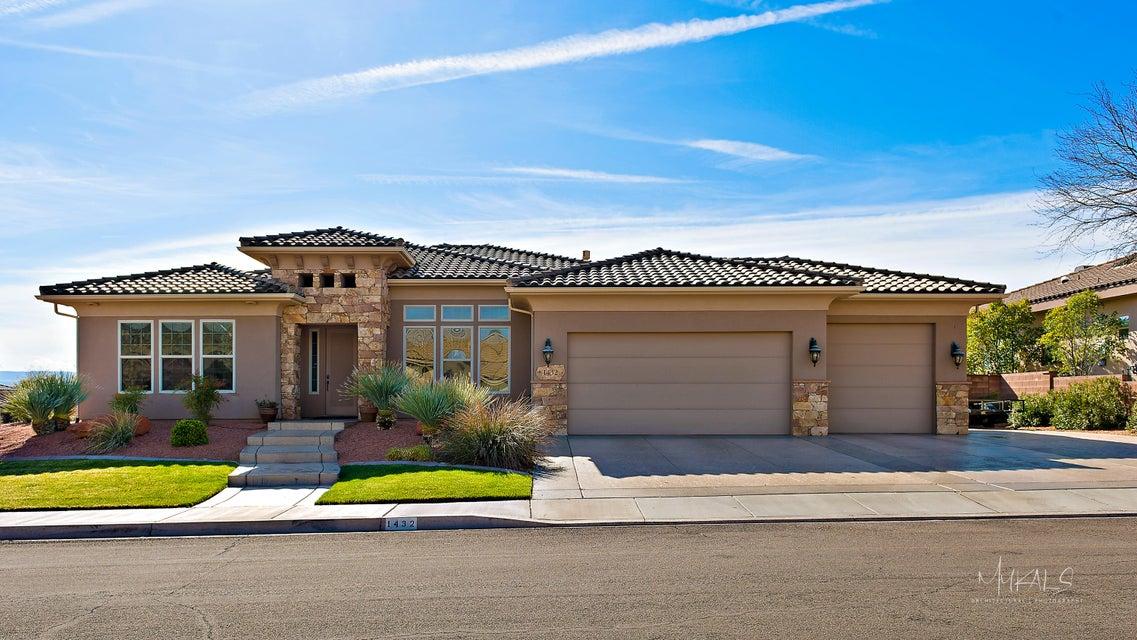 Maison unifamiliale pour l Vente à 1432 Old Course Road 1432 Old Course Road Washington, Utah 84780 États-Unis