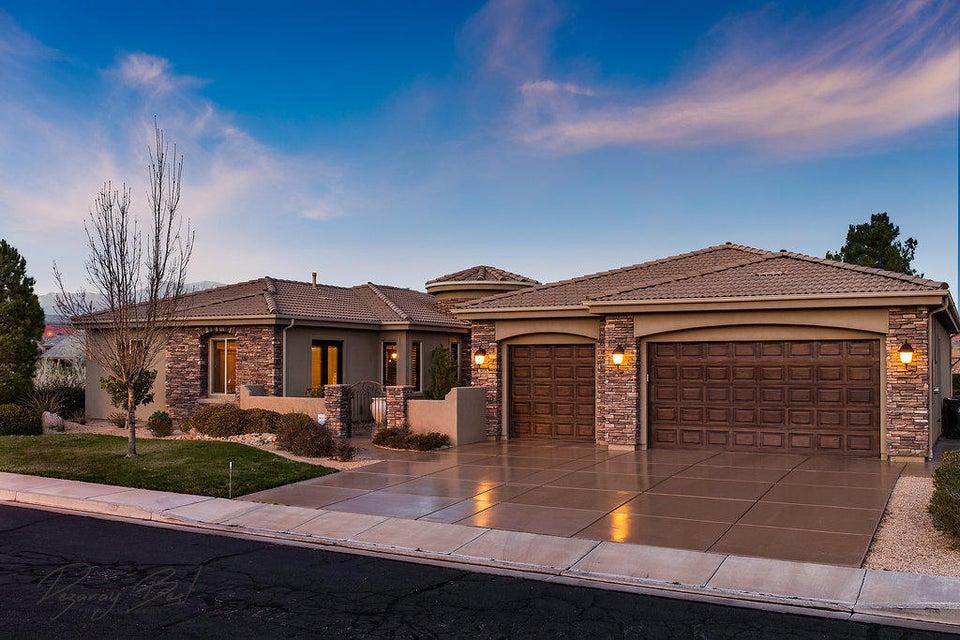 Casa Unifamiliar por un Venta en 368 Lost Creek Drive 368 Lost Creek Drive St. George, Utah 84770 Estados Unidos