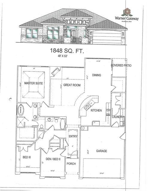 Casa Unifamiliar por un Venta en Lot 103 Gordon Lane Lot 103 Gordon Lane Washington, Utah 84780 Estados Unidos