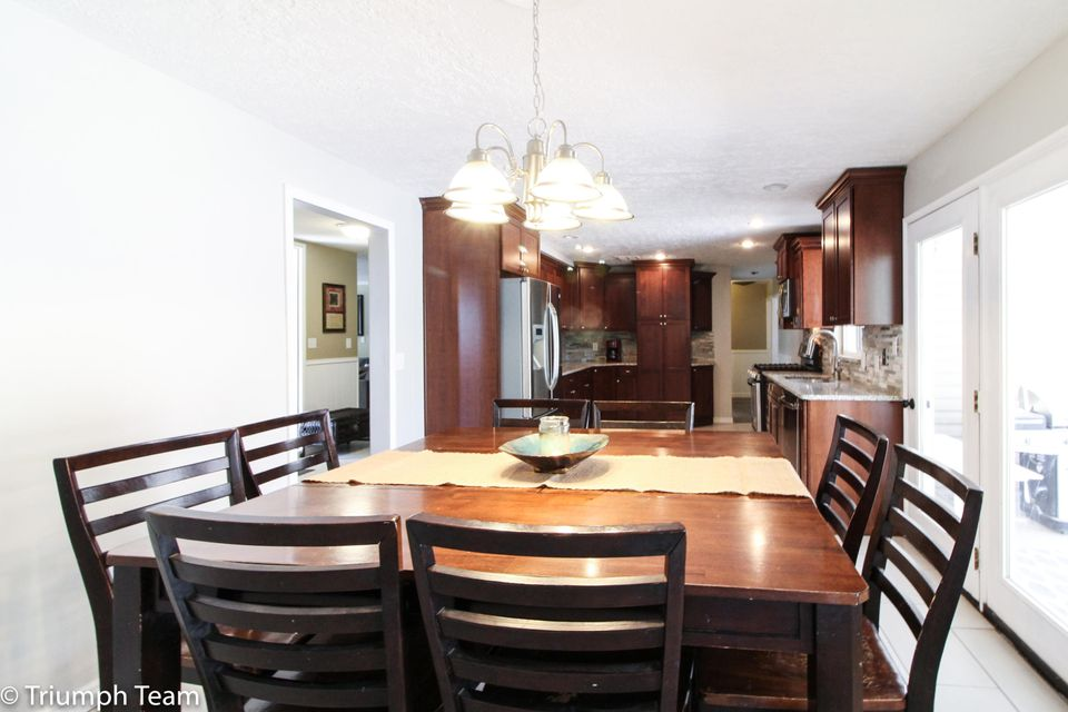 Welcome Home! This home has  received some very nice updates and is ready for your family. New Kitchen, floor coverings, paint, trim,  and fixtures are just some the touches this home has received.  Bursting with natural light, this home is well planned to have large open living spaces and some quiet seclusion in its generously sized master suite.