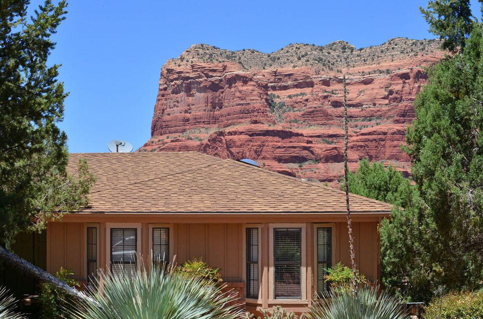 495 concho drive sedona az real estate cathedral view 1 for Sedona luxury cabins