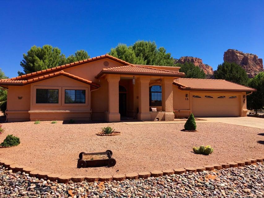 15  Vaquero Circle Sedona, AZ 86351