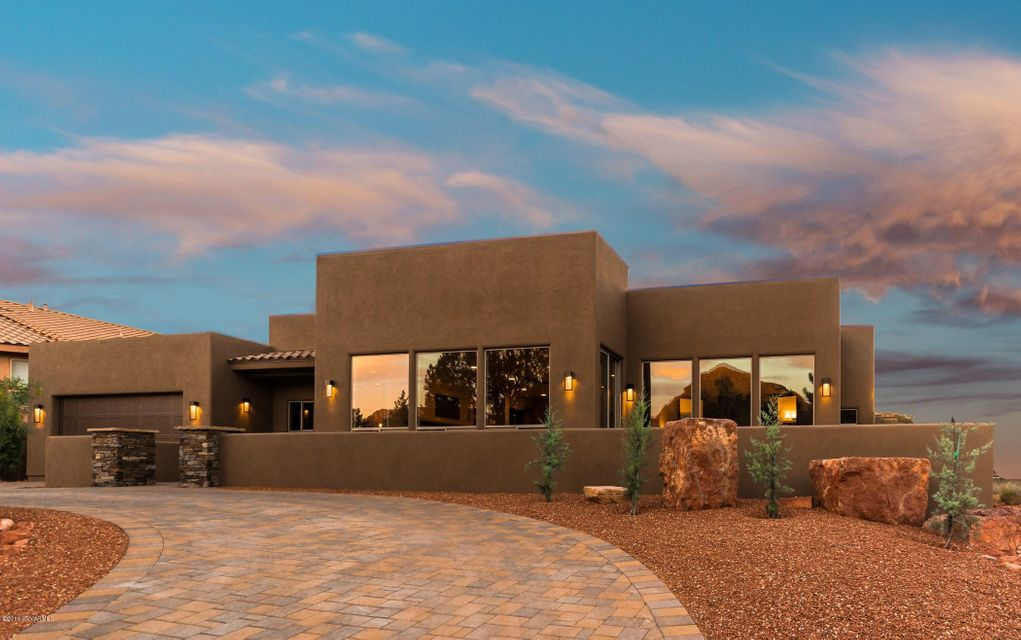 41 vista bonita drive sedona az real estate chapel view for Sedona luxury cabins