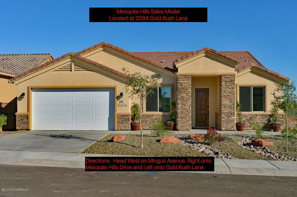 2084  Gold Rush Lane Cottonwood, AZ 86326