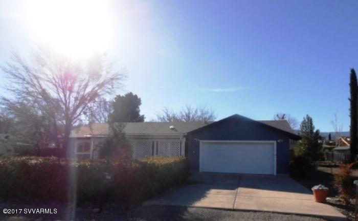 1952 S Rancho Manana Circle Cottonwood, AZ 86326