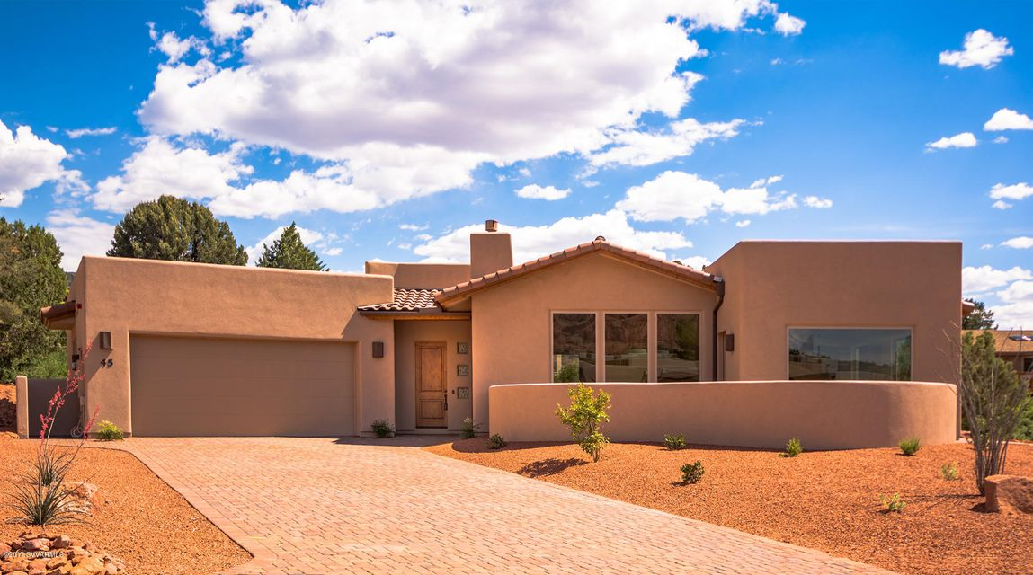 45  Overlook Way Sedona, AZ 86351