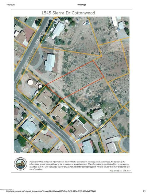 1545  Sierra Cottonwood, AZ 86326