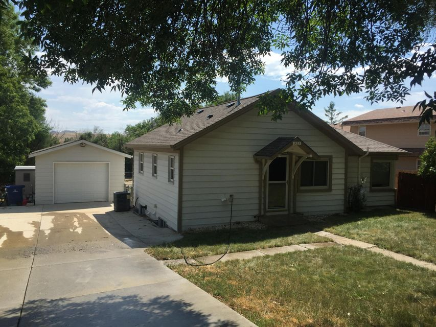 40' x 30' shop with office area and 1-car detached garage on a large lot!  Completely remodeled home featuring on-demand hot water heater, steel siding, 50-year roof, new kitchen, 2 remodeled baths and large master/sleeping bedroom with sitting area.