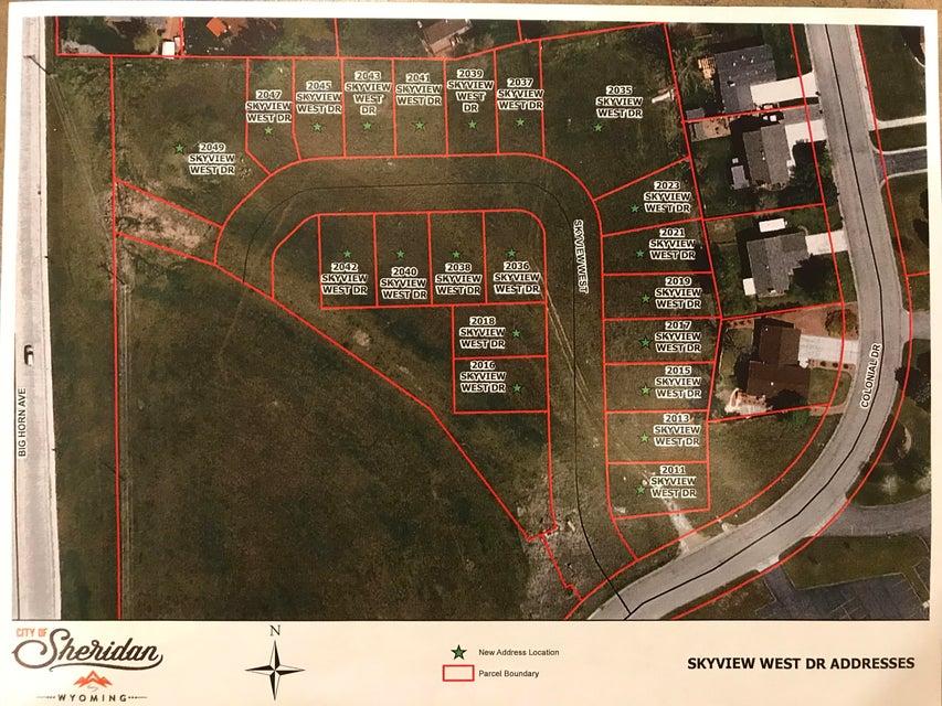 2021 Skyview West Drive,Sheridan,Wyoming 82801,Building Site,Skyview West,18-251