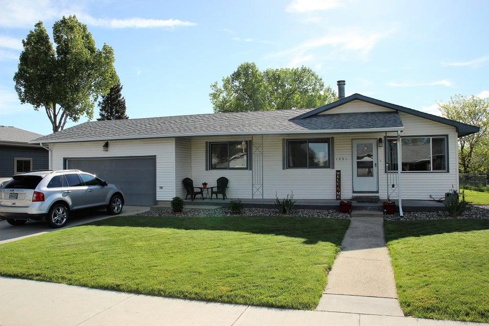 1931 Papago Drive,Sheridan,Wyoming 82801,4 Bedrooms Bedrooms,2 BathroomsBathrooms,Residential,Papago,18-533