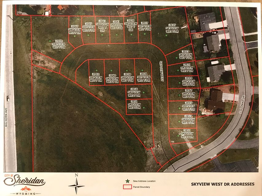 2041 Skyview West Drive,Sheridan,Wyoming 82801,Building Site,Skyview West,18-686