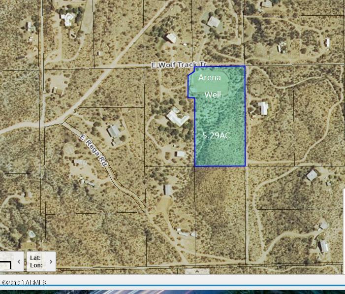 NoSitus E WOLF TRACK Trail, Vail, AZ 85641