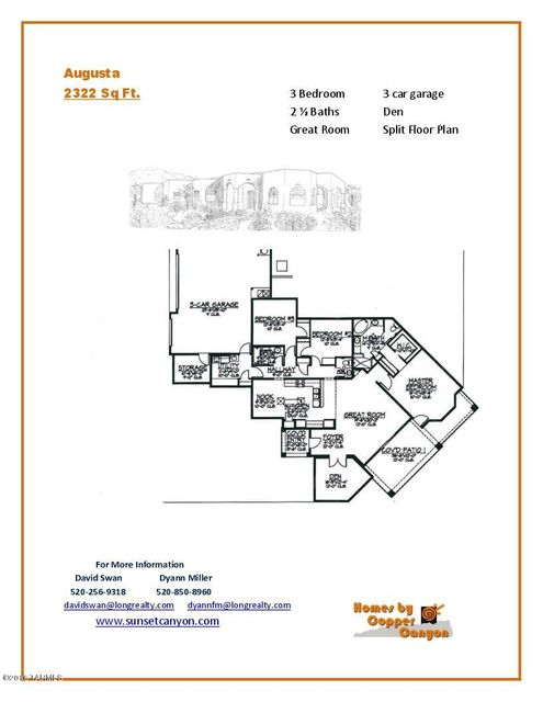 11991 N Mesquite Sunset Place, Oro Valley, AZ 85742