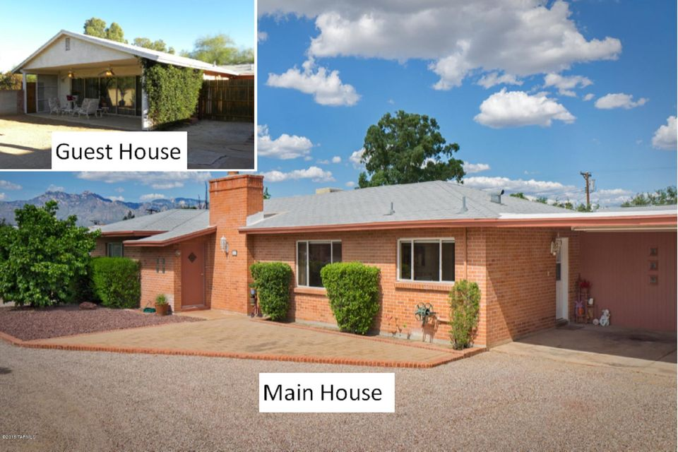 511 S Downing Ln-House & Guest House, Tucson, AZ 85711