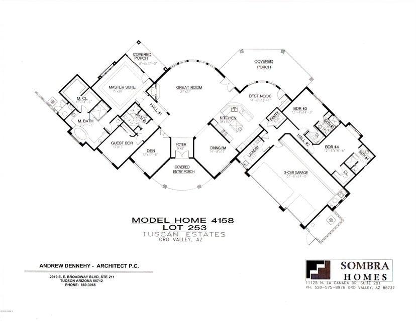 14503 N Shaded Stone Place, Oro Valley, AZ 85755