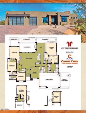 8055 S Circle C Ranch ''to Be Built'' Place Vail, AZ 85641