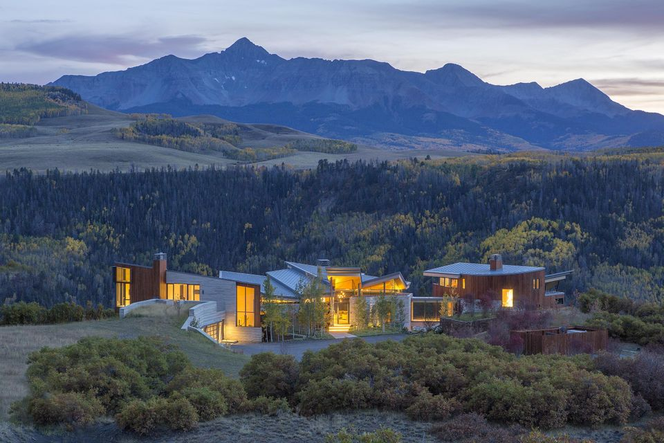 Maison unifamiliale pour l Vente à Sunset Ridge 296 Gray Head Lane Telluride, Colorado,81435 États-Unis