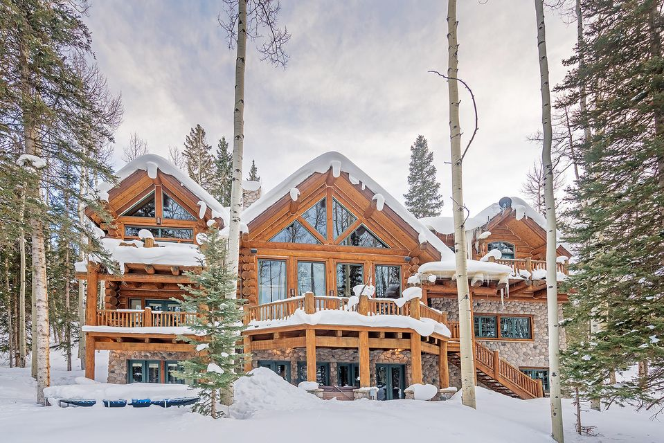 109 palmyra drive a luxury home for sale in telluride for Telluride houses for sale