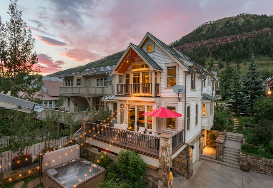 Maison unifamiliale pour l Vente à 522 Colorado Avenue 522 Colorado Avenue Telluride, Colorado,81435 États-Unis