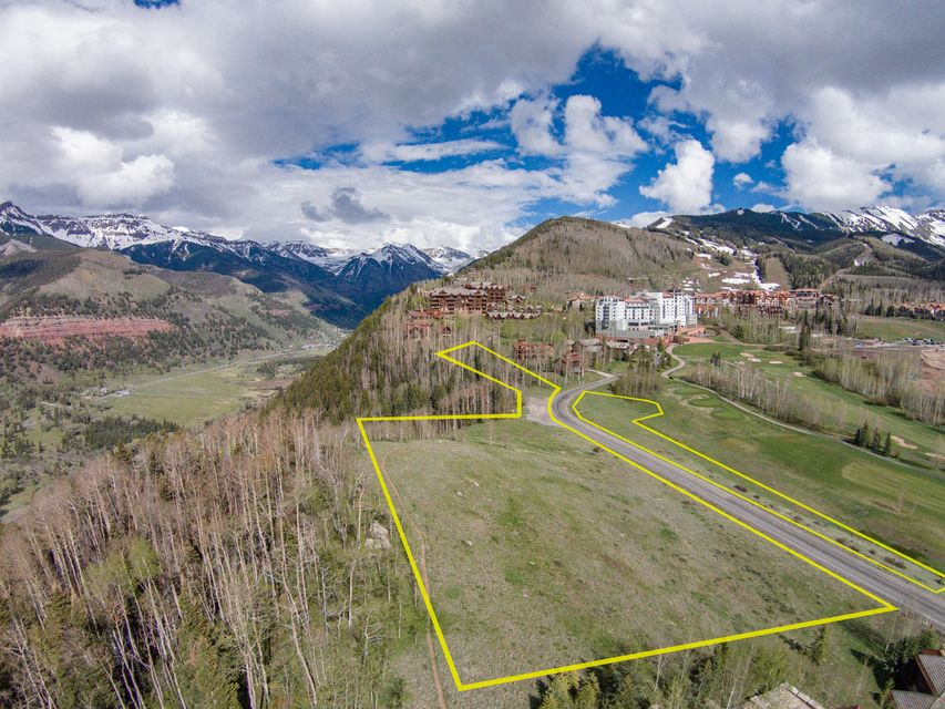 Terre / Lot de terrain pour l Vente à 126R Country Club Drive 126R Country Club Drive Telluride, Colorado,81435 États-Unis