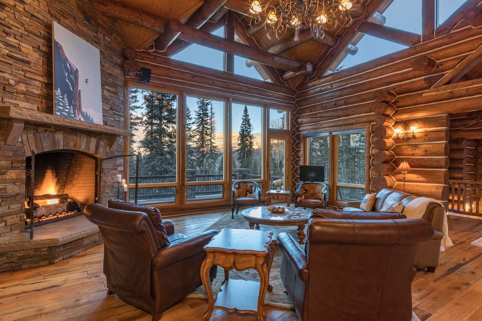 Maison unifamiliale pour l Vente à 130 High Country Road 130 High Country Road Telluride, Colorado,81435 États-Unis