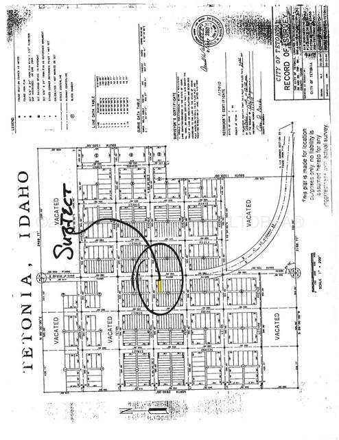 TBD MAIN, Tetonia, ID 83452