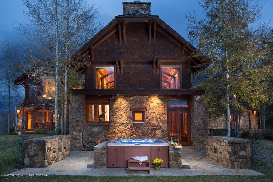 Maison unifamiliale pour l Vente à Jackson, WY Jackson, Wyoming,83001 États-Unis