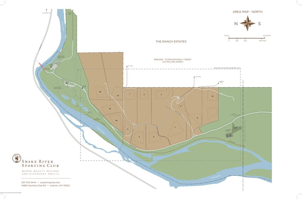 Additional photo for property listing at Jackson, WY The Residences Lot 7 at Snake River Sporting Club Jackson, Wyoming,83001 États-Unis