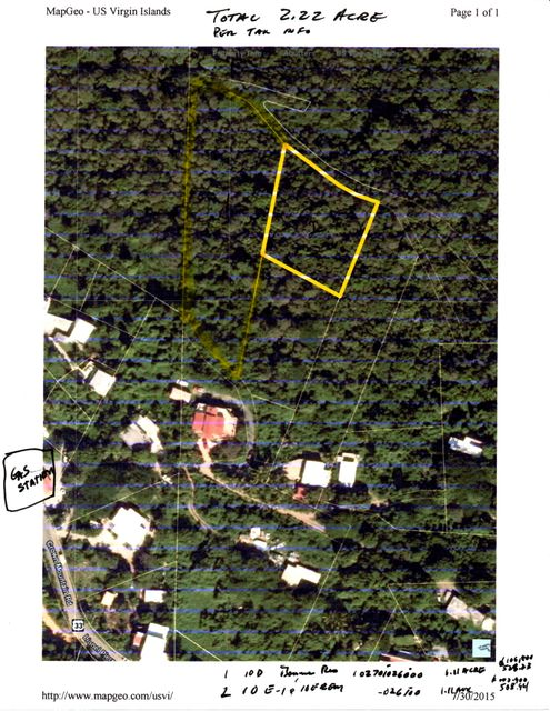 Land for Sale at 10D,10E-1& Bonne Resolution LNS 10D,10E-1& Bonne Resolution LNS St Thomas, Virgin Islands 00802 United States Virgin Islands