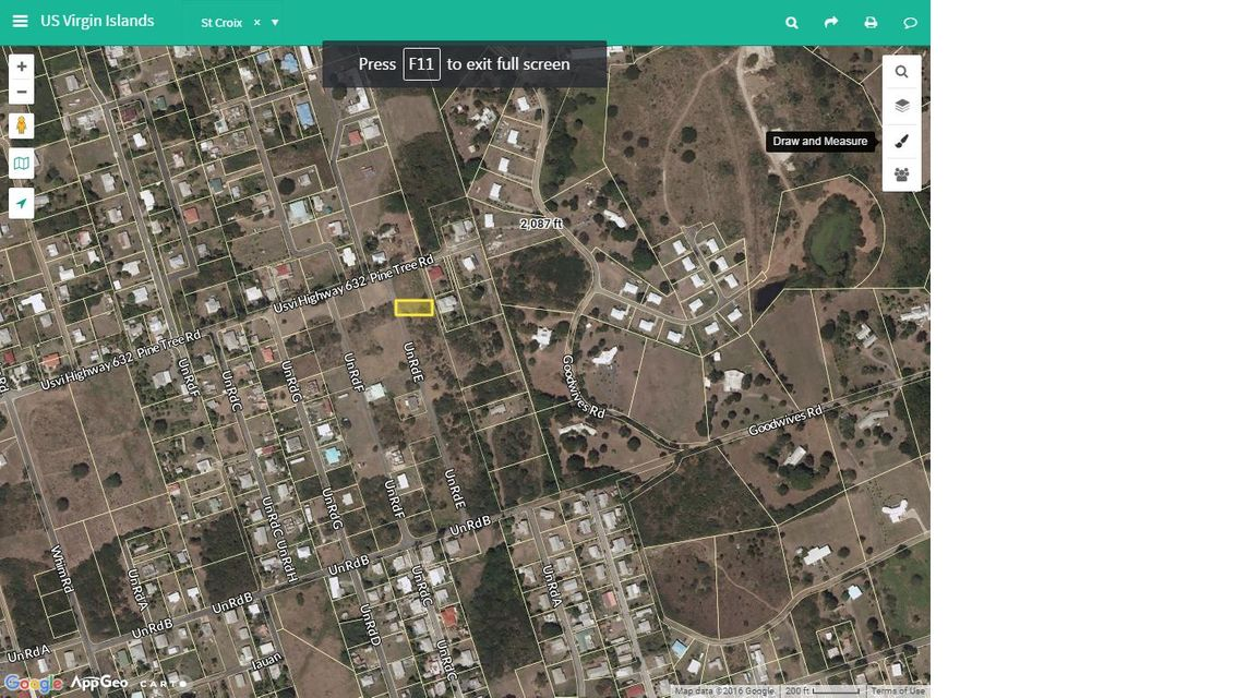 Land for Sale at 41-B Whim (Two Williams) WE 41-B Whim (Two Williams) WE St Croix, Virgin Islands 00840 United States Virgin Islands