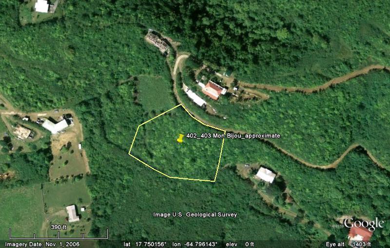 土地,用地 为 销售 在 402 & 403 Mon Bijou KI 402 & 403 Mon Bijou KI 圣克洛伊岛, 维京群岛 00840 美属维尔京群岛