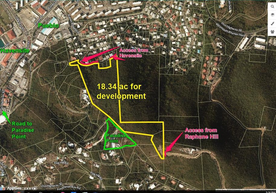 Land for Sale at 14J Thomas NEW St Thomas, Virgin Islands 00802 United States Virgin Islands