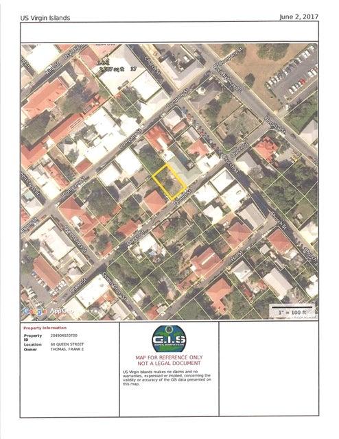 Terrain pour l Vente à 60 Queen Street CH 60 Queen Street CH St Croix, Virgin Islands 00820 Isles Vierges Américaines