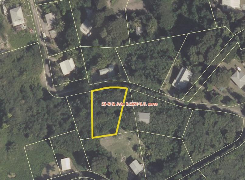 Land for Sale at 23-N St. John QU St Croix, Virgin Islands 00820 United States Virgin Islands