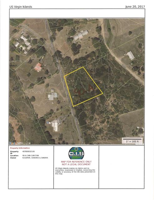 Land for Sale at 90A Carlton WE St Croix, Virgin Islands 00840 United States Virgin Islands