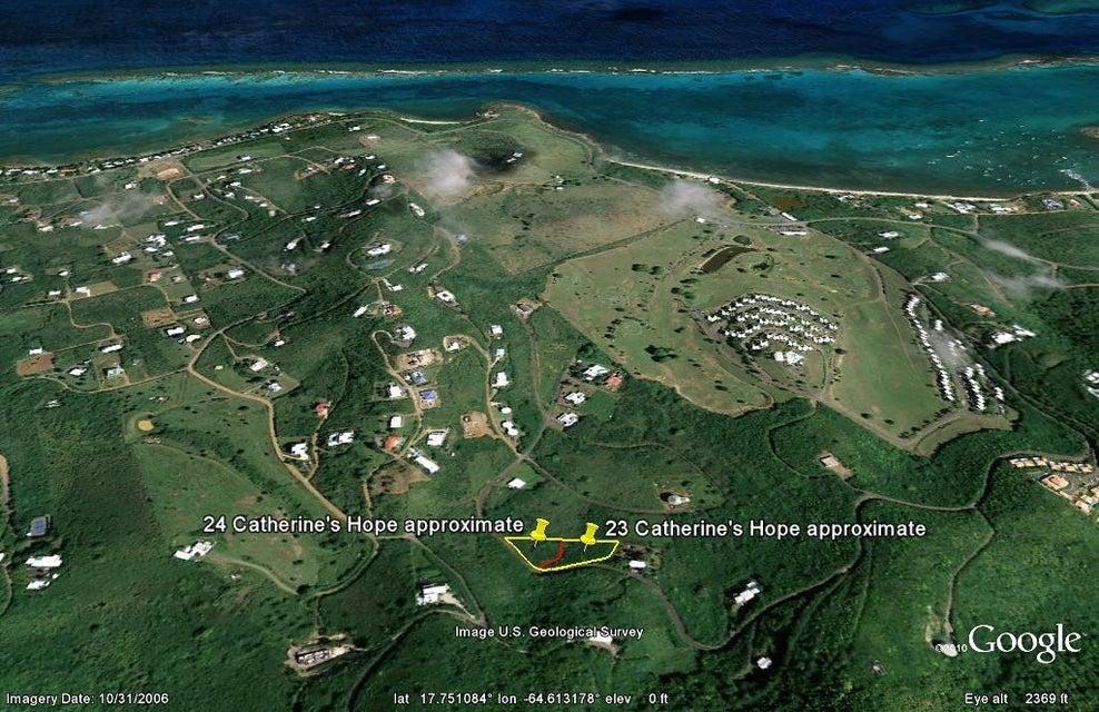 Terrain pour l Vente à 23 Catherine's Hope EB 23 Catherine's Hope EB St Croix, Virgin Islands 00820 Isles Vierges Américaines
