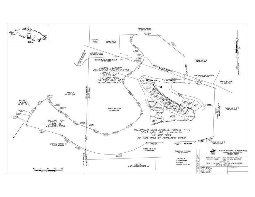Land for Sale at Parcel K Raphune NEW Parcel K Raphune NEW St Thomas, Virgin Islands 00802 United States Virgin Islands