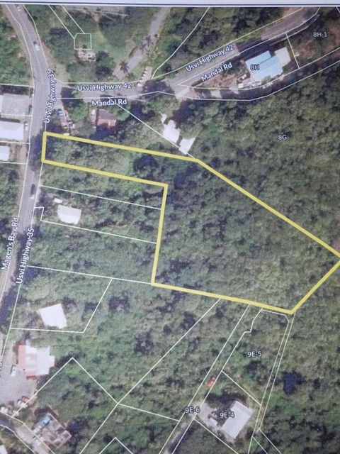 Land for Sale at 9C St. Joseph & Rosendahl GNS 9C St. Joseph & Rosendahl GNS St Thomas, Virgin Islands 00802 United States Virgin Islands