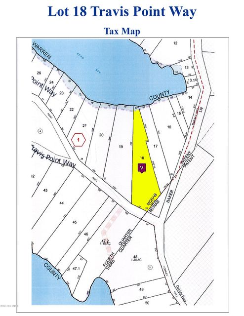 Lot 18 Travis Point Way, Kattskill Bay, NY 12844