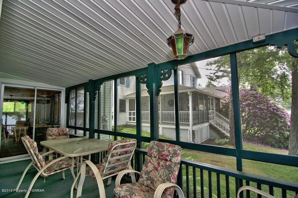 Exterior Screened Porch View 1