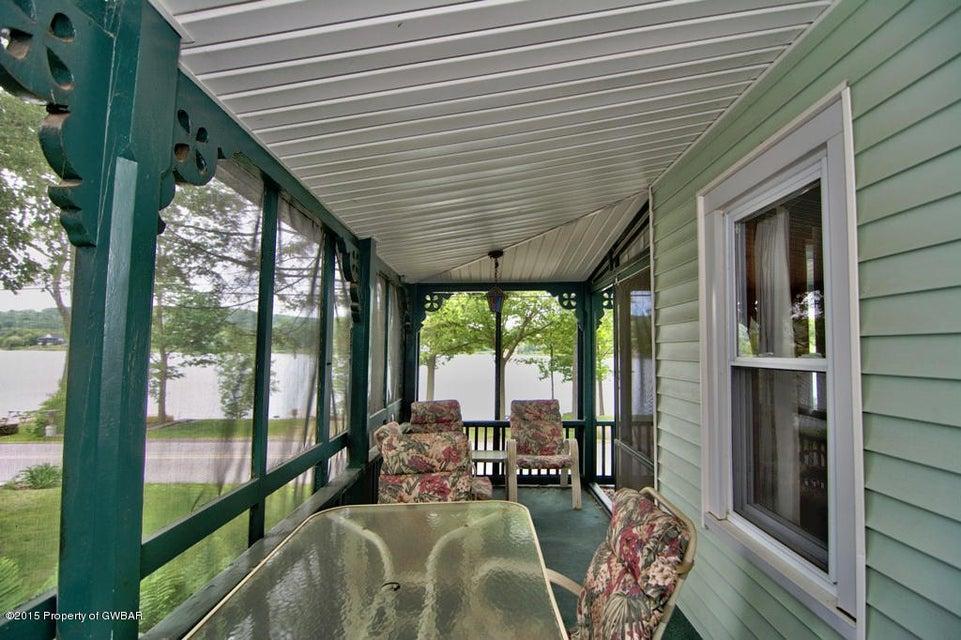 Exterior Screened Porch View 3