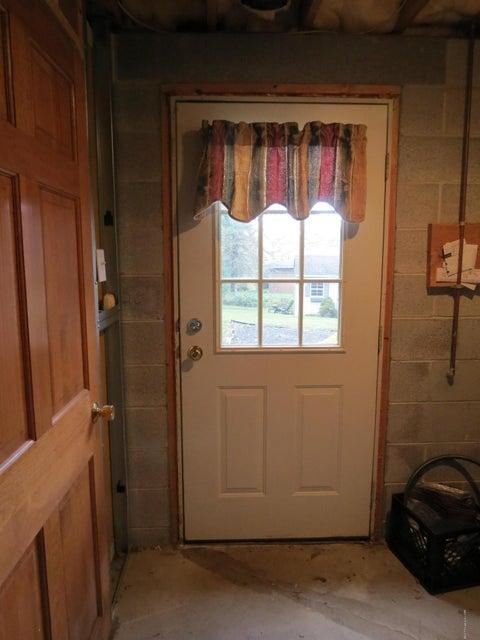 Outside basement access